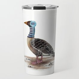 Mr Gooser's Winter Stroll Travel Mug