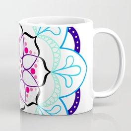 Mandala I - Colour Outline I Coffee Mug