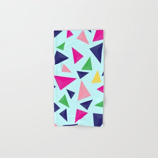 Colorful geometric pattern VIV Hand & Bath Towel