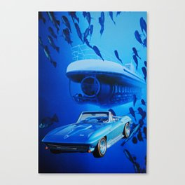 Submarines Canvas Print