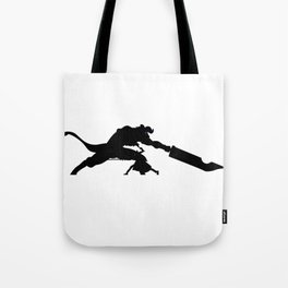 Anime Kirito Inspired Shirt Tote Bag
