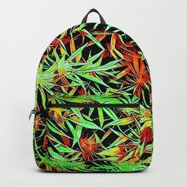 Cartoon Cannabis Jungle Backpack