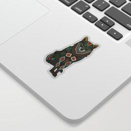 wolf ivory Sticker