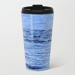 Dolphin Fins Travel Mug