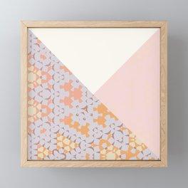 Abstrait Formes Framed Mini Art Print