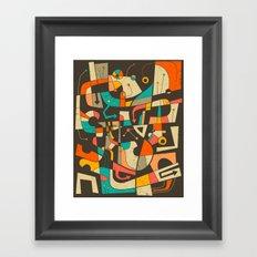 Interzone Framed Art Print