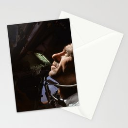 Apollo 7 - Looking At The Stars Stationery Cards