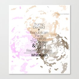 Whitelash Canvas Print