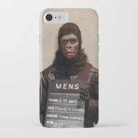planet of the apes iPhone & iPod Cases featuring Planet of the Apes  by Rotton Cotton Candy