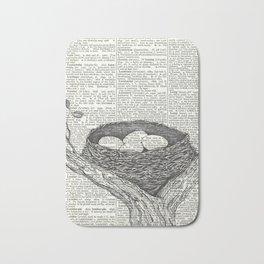 Lullaby of Birdland Bath Mat