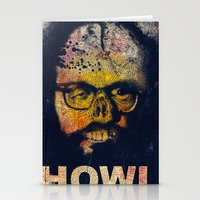 howl Stationery Cards featuring Howl by Alec Goss