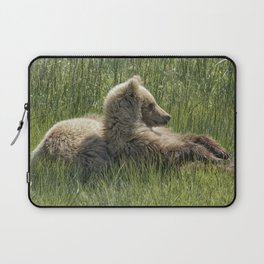 Settling Down Again - Bear Cubs, No. 6 Laptop Sleeve