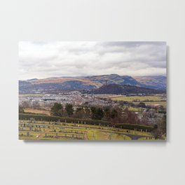 View from Stirling Castle Metal Print