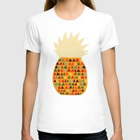 pineapple T-shirts featuring Pineapple by Picomodi