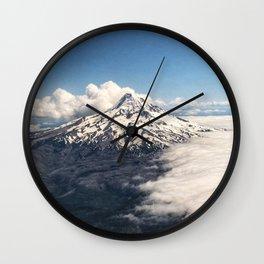 Mt. Hood Wall Clock