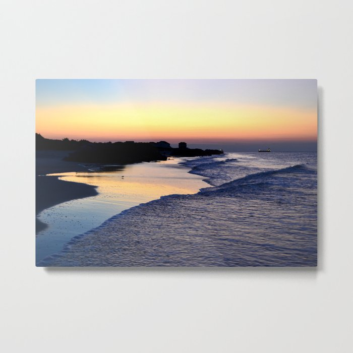 Beach V Metal Print