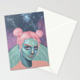 Wild Cotton Candy Stationery Cards