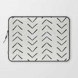 Mud Cloth Big Arrows in Cream Laptop Sleeve
