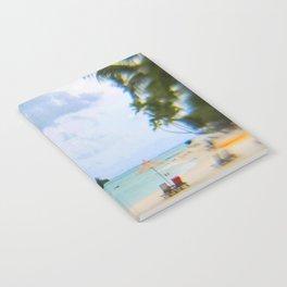 A Dreamy Day at a Tahitian Beach, Bora Bora Notebook