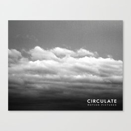 Circulate - Clouds Canvas Print