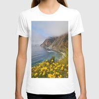 big sur T-shirts featuring Big Sur in Bloom, California 1 by gypsysoulshots