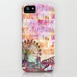 Sydney Luna Park Ferris Wheel iPhone Case