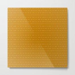 Coit Pattern 48 Metal Print