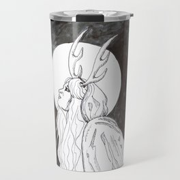 Antler Girl Travel Mug