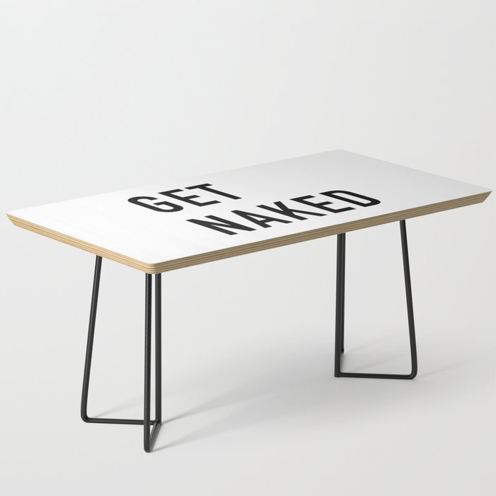 Get Naked Coffee Table