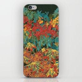 Fancy-Leaf Geraniums iPhone Skin