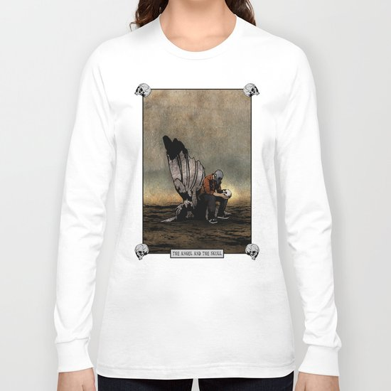 The Angel And The Skull Long Sleeve T-shirt