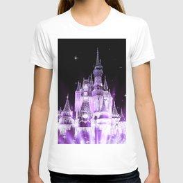 Enchanted Castle Purple Lavender T-shirt