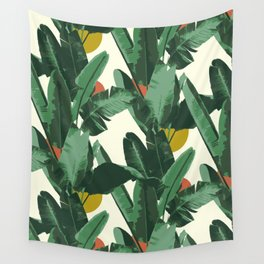 Crystal Gardens Pattern Wall Tapestry