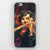 alice x zhang iPhone & iPod Skins featuring Virtuoso by Alice X. Zhang