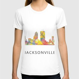 Jacksonville, Florida skyline WB1 T-shirt