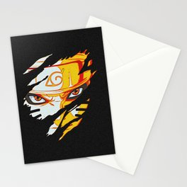 Naruto Face Stationery Cards