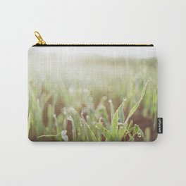 Morning Grass Carry-All Pouch