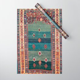 Sivas Antique Turkish Niche Kilim Print Wrapping Paper