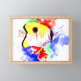 HAwaiian Coral Fish Framed Mini Art Print