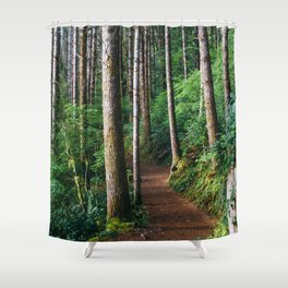 Trees: III // Oregon Shower Curtain