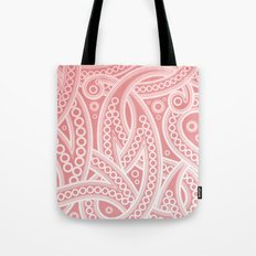 Pink Pattern Tote Bag