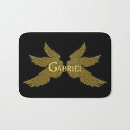 Archangel Gabriel Wings Bath Mat