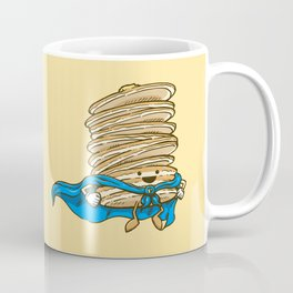 Captain Pancake Descends Coffee Mug