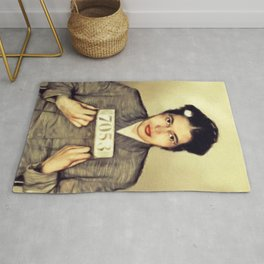 Rosa Parks, Civil Rights Activist Rug