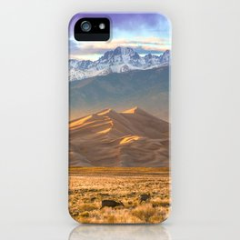 Deer and the Dunes iPhone Case