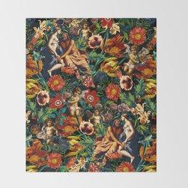HERA and ZEUS Garden Throw Blanket