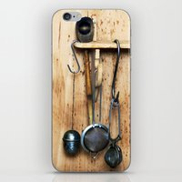kitchen iPhone & iPod Skins featuring KITCHEN EQUIPMENT by CAPTAINSILVA