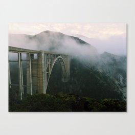 Bixby Bridge, Big Sur, California (landscape) Canvas Print