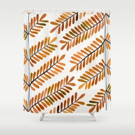 Autumn Leaflets Shower Curtain