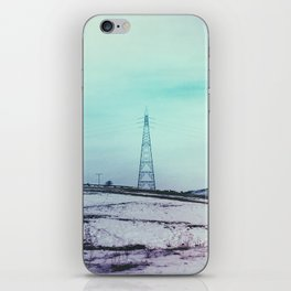 TURNED ELECTRICITY iPhone Skin